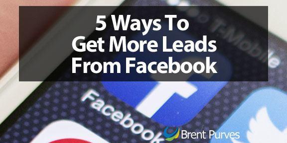 Facebook marketing - social media lead generation