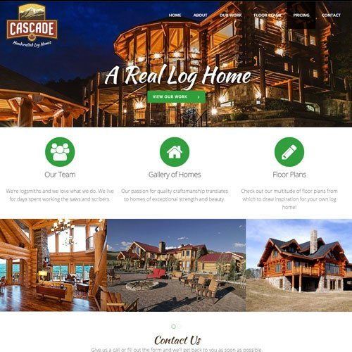 home builder web design company bc
