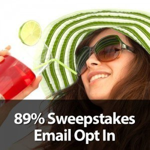 Online Sweepstakes Contest Marketing and Advertising Case Study