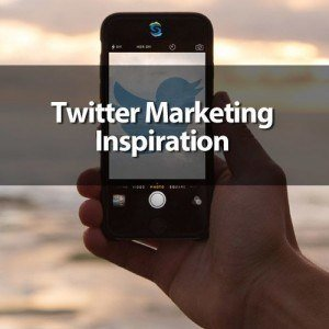 Twitter social media marketing for business inspiration
