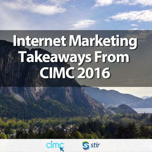 Key Marketing Takeaways from CIMC 2016