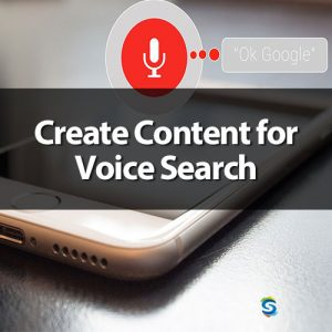 create content for voice search