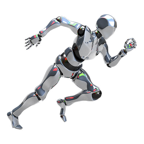 marketing automation agency - running robot