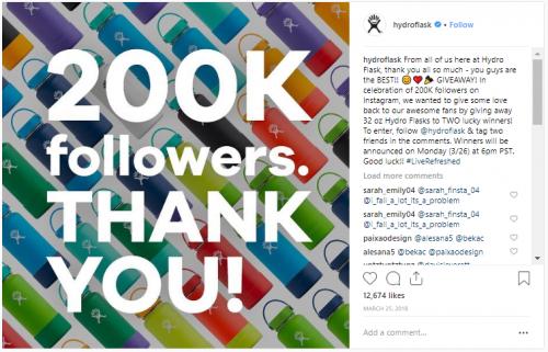 Instagram Contest Examples - Stir Marketing
