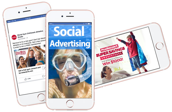 social medi advertising mobile phones