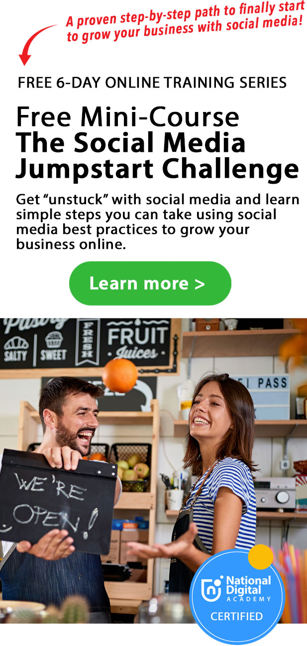 free online training course - learn social media