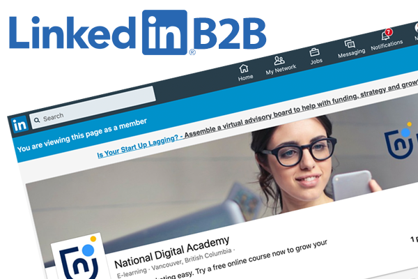 how to become a thought leader on linkedin b2b marketing