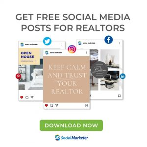 free social media posts for realtors and real estate